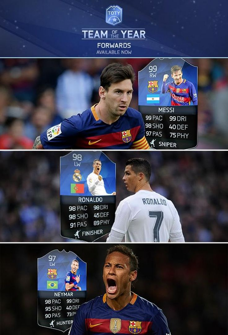 FIFA 16 TOTY Team of the Year Forwards are NOW IN PACKS! http://www.ultimateteam.co.uk/2016/01/11/fifa-16-toty/ #FUT #TOTY