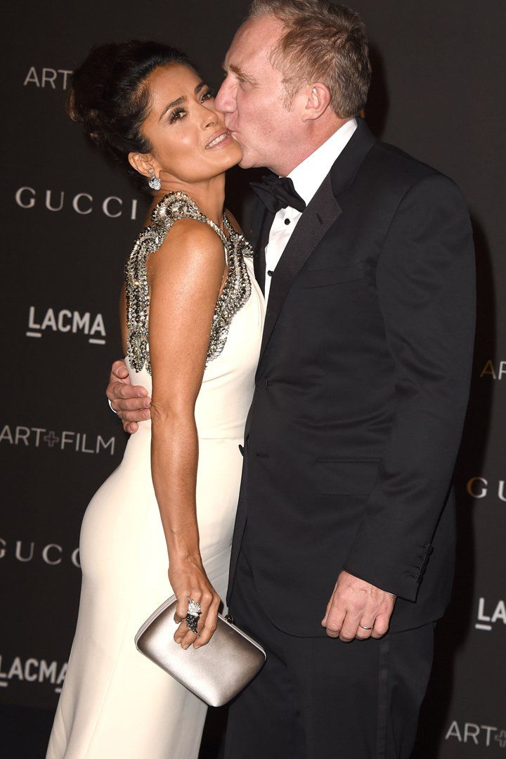 Pin for Later: 20 PDA-Filled Moments Between Salma Hayek and Her Husband, François-Henri Pinault