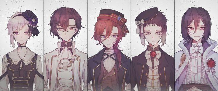 Gothic boys ♥
