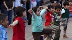 Five Easy Social Dances for Early Elementary.  Includes dances from Eastern Europe and West Africa.