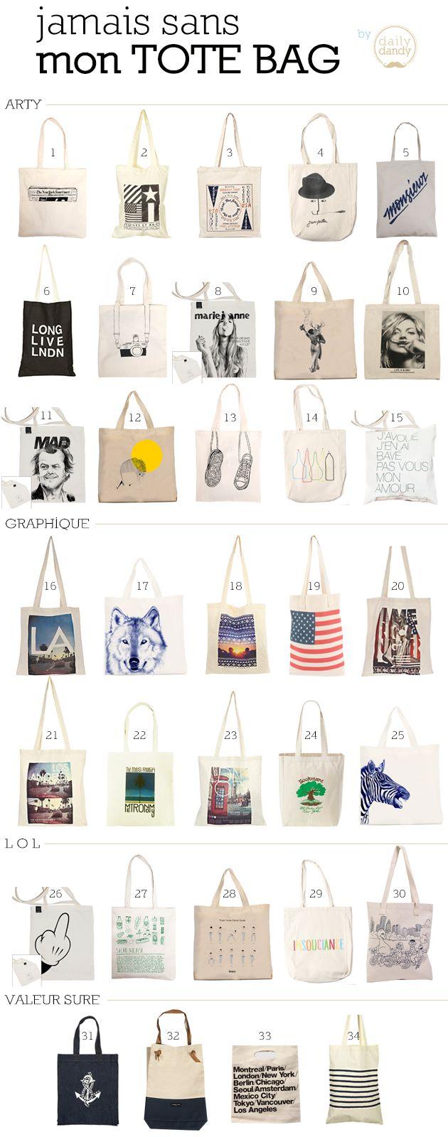 Tote Bag - Daily Dandy
