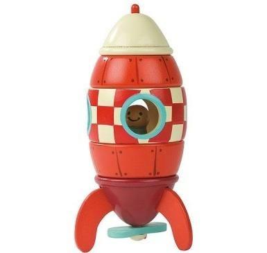 Cohete Magnítico; ¿Eres capaz de construir este cohete espacial? ¡Acepta el reto y date una vuelta por el espacio!Gracias a este tipo de juguetes, el niño adquiere nociones espacio - temporales, aprende a distinguir tamaños, formas, colores, potencia su capacidad imaginativa así como consigue controlar la fuerza y presión necesaria para armar y desarmar... En  http://www.opirata.com/cohete-magnetico-p-25714.html