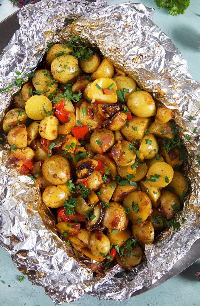 Grilled potatoes in the southwest   – Recipes Straight From The Soapbox