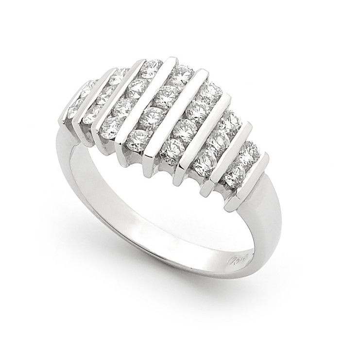 This elegant ring, so simple in a photo but surprises everyone when they try it on. It looks a million dollars!
