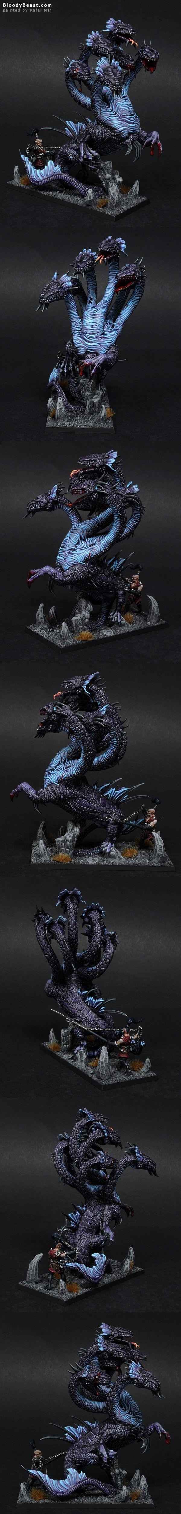 Dark Elves War Hydra - BloodyBeast.com
