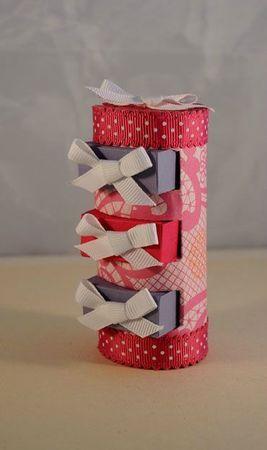 recyclage rouleau papier toilette et boite d'allumettes