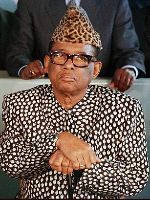 Mobutu Sese Seko Nkuku Ngbendu wa Za Banga  14 October 1930 – 7 September 1997), commonly known as Mobutu or Mobutu Sese Seko