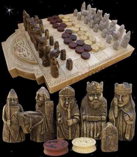 Jogo De Xadrez Viking (lewis Chess)