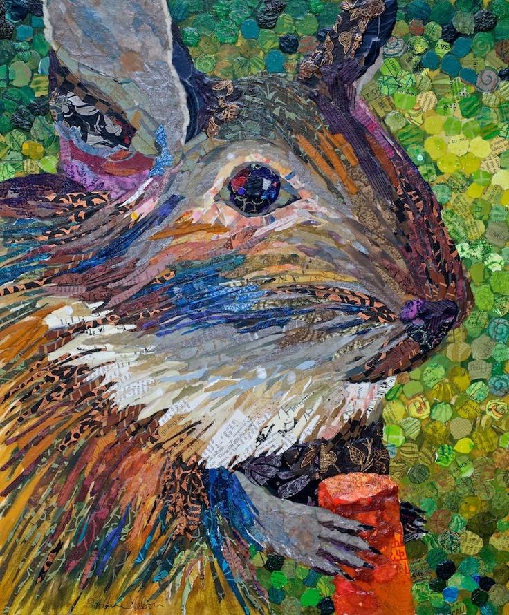 Picasso Degu  20x24  currently on display at Thrasher Horne Center for the Arts, Orange Park, FL