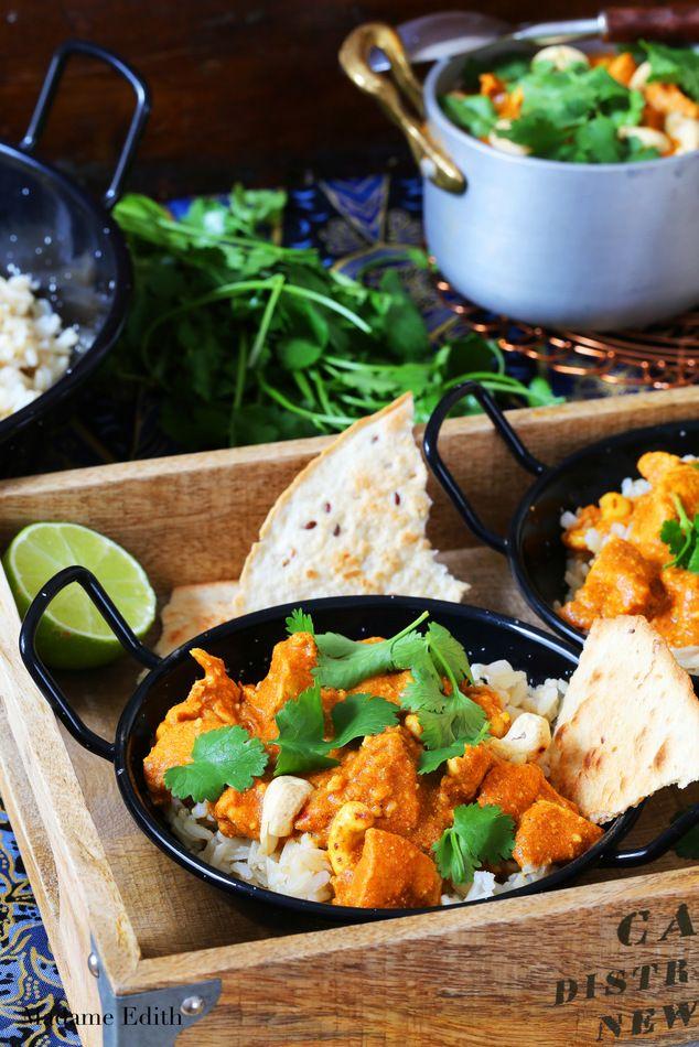 Kurczak maślany – indyjski butter chicken