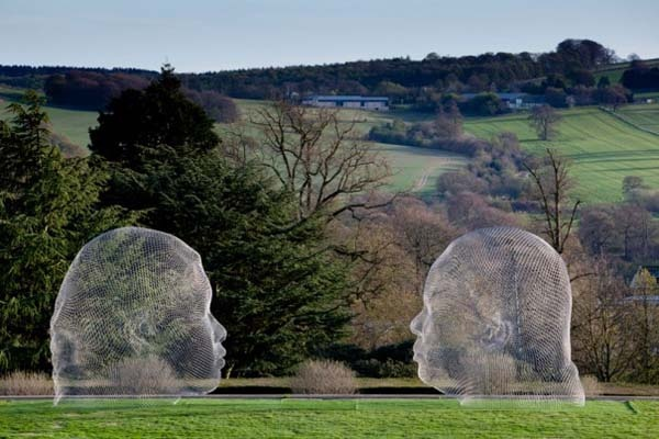 jaume plensa sculptures