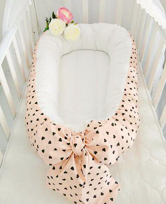 Babynest For Newborn Girl Double Sided Snuggle Nest Toddler Nest