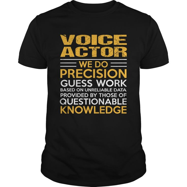 VOICE-ACTOR***How to ? 1. Select color 2. Click the ADD TO CART button 3. Select your Preferred Size Quantity and Color 4. CHECKOUT!   If You dont like this shirt you can use the SEARCH BOX and find the Custom Shirt with your Name!!job title jobVOICE-ACTOR recruitment