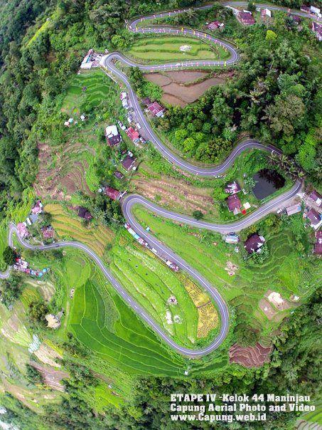 Indonesia, Bukittinggi City, the Corners 44. Bukittinggi is the second biggest city in West Sumatra, Indonesia