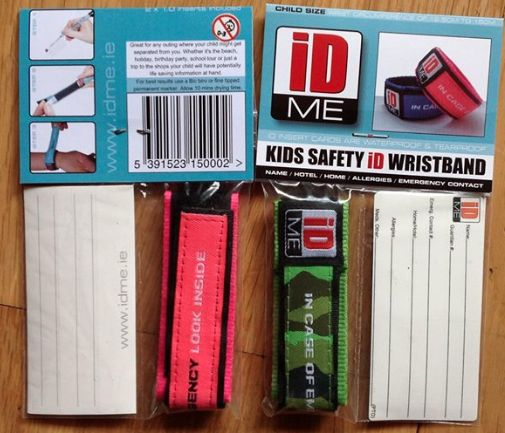 Review of IDME ~ Kids Safety Wristbands