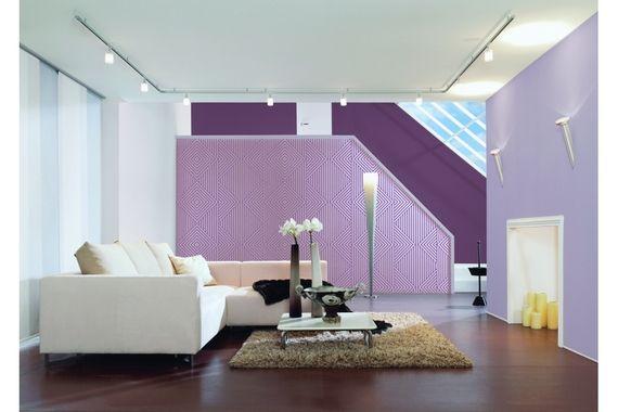Les 25 meilleures id es de la cat gorie canap violet sur for Deco salon gris et mauve