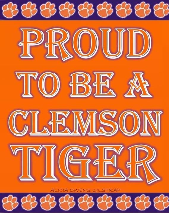 If you are proud to be a Clemson Tiger and ACC fan let Facebook know it!!! ORANGE BOWL CHAMPIONS!!! Way to go TIGERS!!!