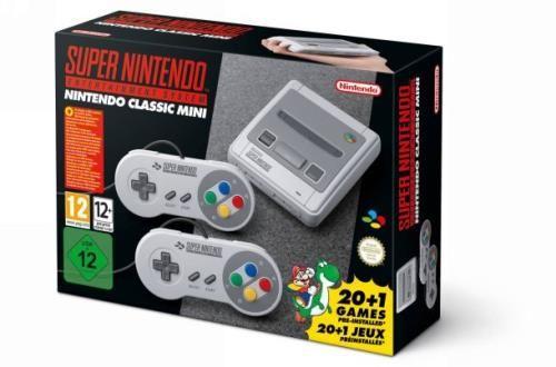 Console Nintendo Classic Mini Super Nintendo - Console de jeux de salon - Achat & prix | fnac