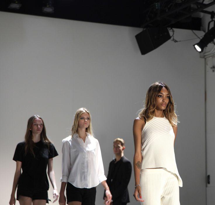 Behind the scenes at the Misha Collection Runway Show at New York Fashion Week