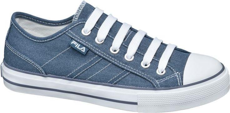 #Fila #Sneaker #blau für #Damen Farbe blau Laufsohle Gummi Obermaterial Textil Innenmaterial Textil