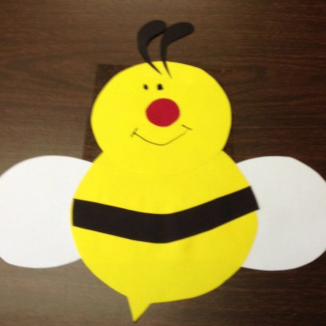 Bee Backside Contains Writing About The Attached To Abdomen This Is Hanging From My Classroom Ceiling