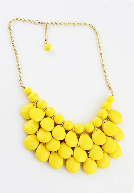 Collar beads-Amarillo EUR€4.96