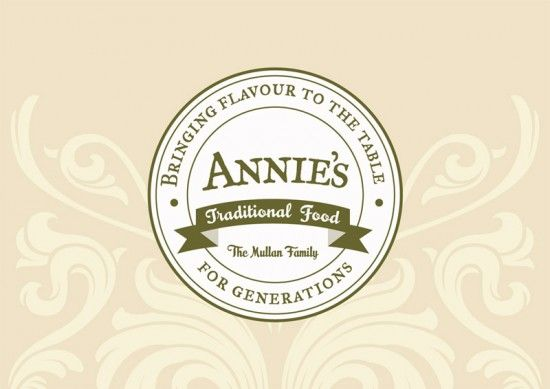 Annie's Traditional Food branding