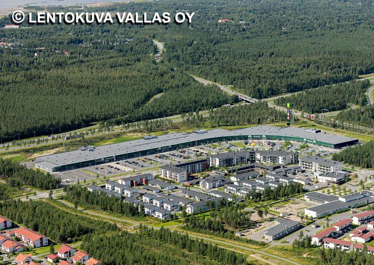 Ideapark, Oulu Ilmakuva: Lentokuva Vallas Oy