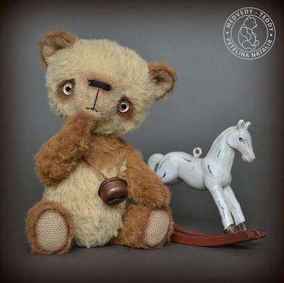 Авторские коллекционные медведи-тедди Петелиной Натальи: Малыш панды