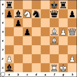 White Mates in 2. Browne vs Coskun Kulur, Skopje, 1972 chess-and-strategy.com #echecs #chess