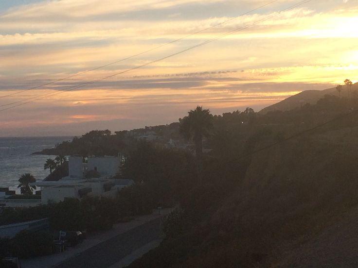 Malibù #beach #sunset #coast