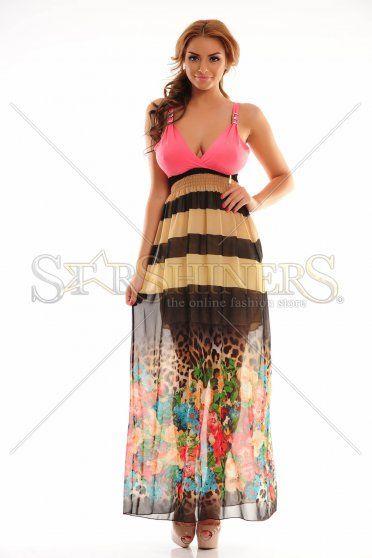 MissQ Upper Shelter Coral Dress