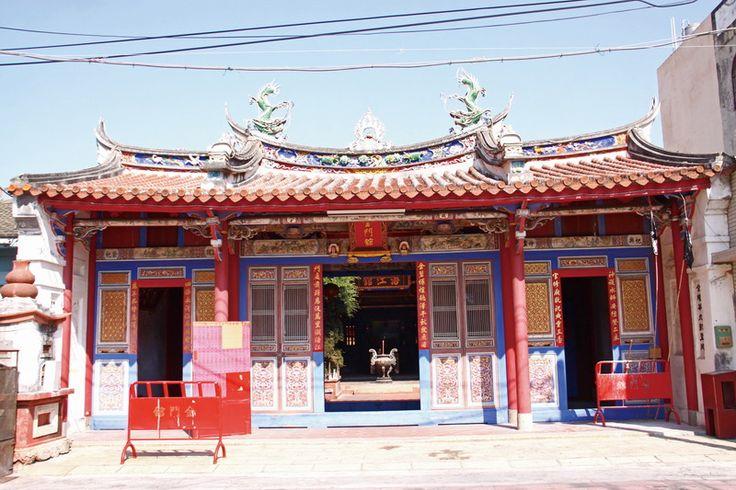 1805年に建てられたという鹿港金門館。台湾は歴史の旅が面白い。台湾おすすめの観光スポット、金門。