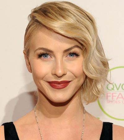 Julianne Hough S Faux Undercut Is A Hot Look For Medium