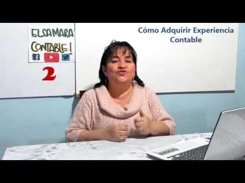 Cómo Adquirir Experiencia Contable _ ElsaMaraContable2