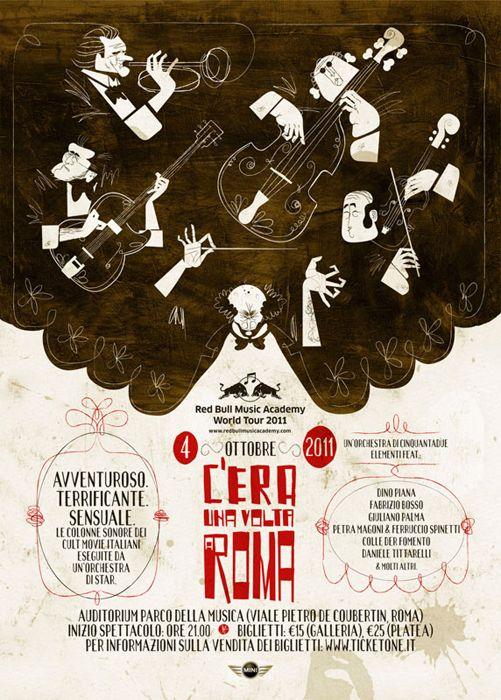 Red Bull Academy World Tour by Alvaro Laura, via Behance