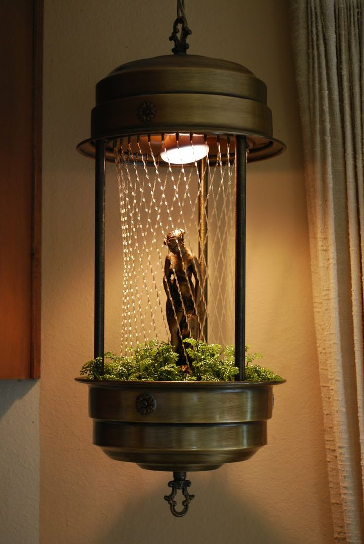 Vintage Rain Lamps - very first gift my hubby ever gave me, that was in