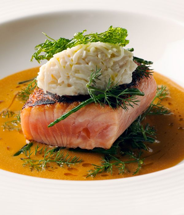 This Nathan Outlaw sea trout recipe requires more commitment than skill, though lovers of seafood cookery won't find it too difficult providing you have a good local fishmonger.