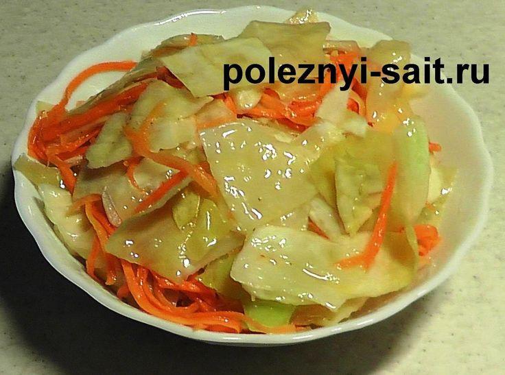 Как готовить капусту по корейски