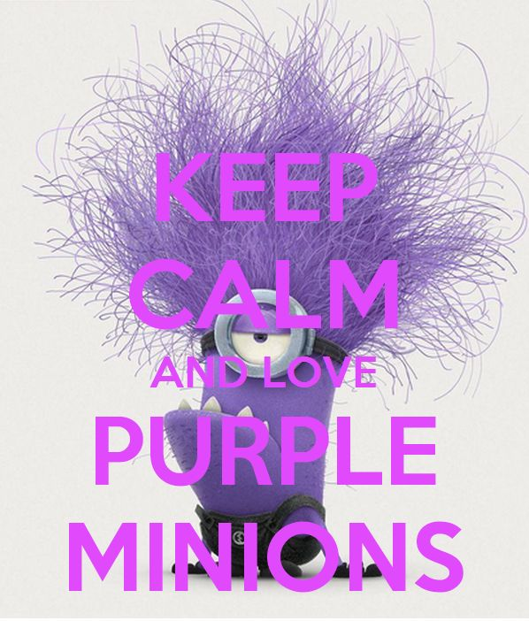 Purple Minion Quotes: 25+ Best Ideas About Keep Calm Minions On Pinterest