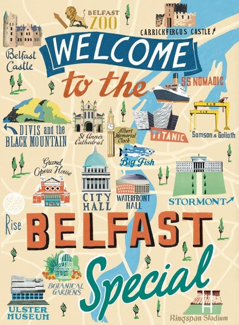 Belfast Map | Anna Simmons