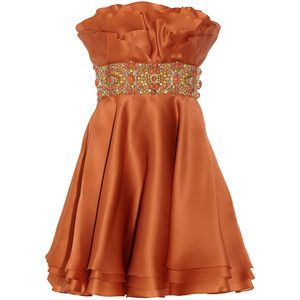 burnt orange bride's maid dresses with gold accessories