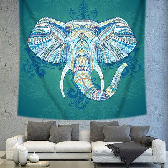 Elephant Wall Decor 22 best elephant boho wall decor images on pinterest | mandala