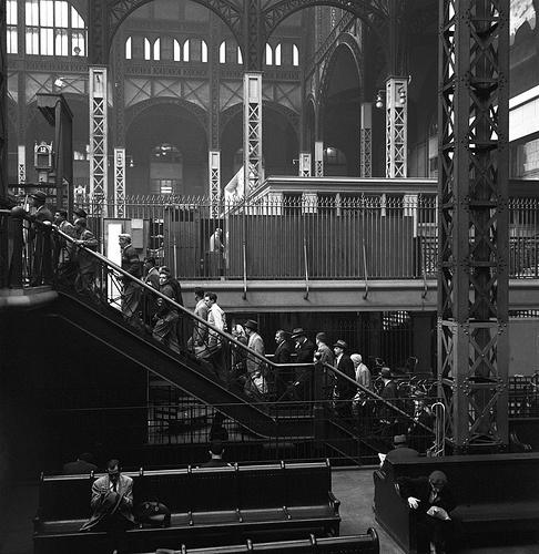 1958 Penn Station New York