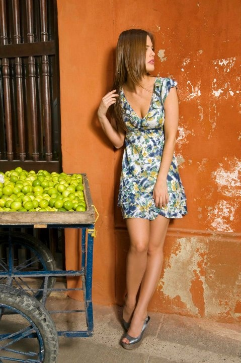 Vestido Estampado The Color Wear