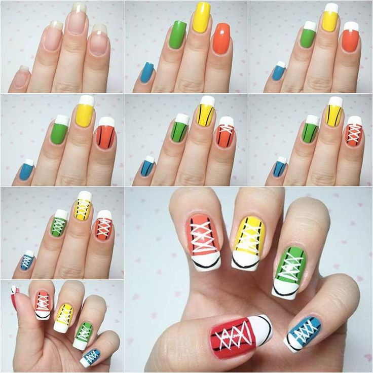 """<input class=""""jpibfi"""" type=""""hidden"""" ><p>Are you a fan of Converse sneakers? I like Converse sneakers too because they are so stylish and comfortable. How about combining the cute sneakers and fancy nail art together? Here's a fun DIY fashion project to make sneakers nail art. You can make it in one color or paint …</p>"""