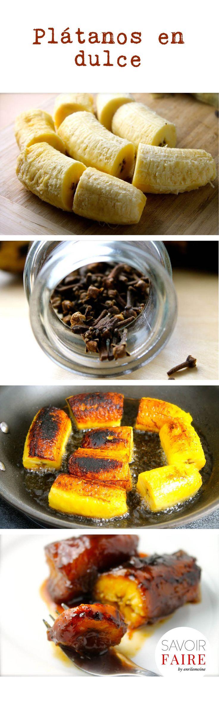 Los plátanos dulces con clavitos de olor también son una buena opción para esas…