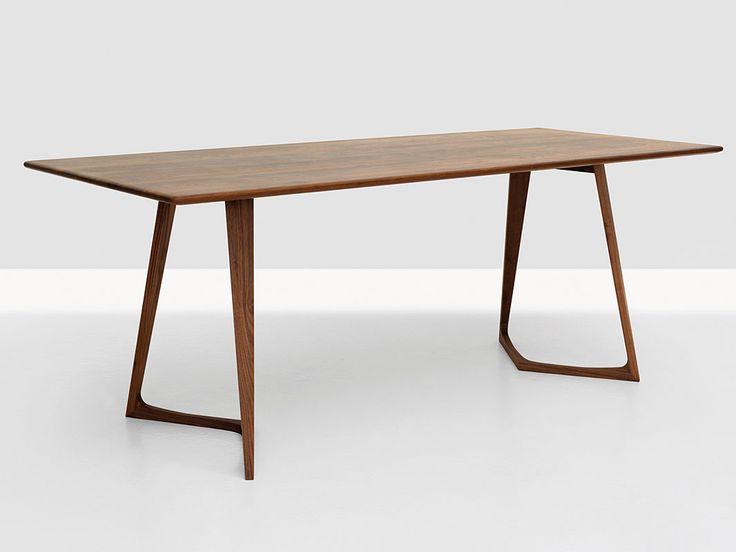 Weisser tisch mit dunkler platte interesting massiver for Weisser tisch mit dunkler platte