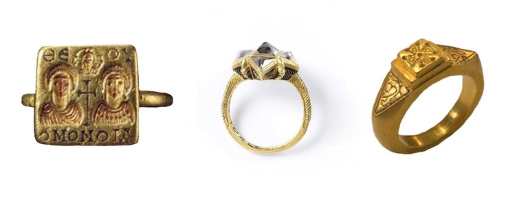 Engagement Ring from the Byzantine Period