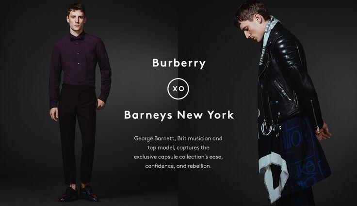 Burberry XO Barneys New York at Barneys New York